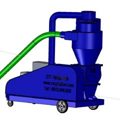 Animation of Nam Son Grain pneumatic conveyor
