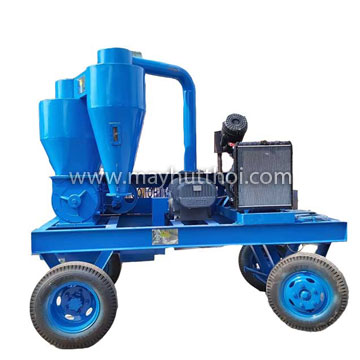 Rice/ Paddy husk Pneumatic onveyor operated by diesel