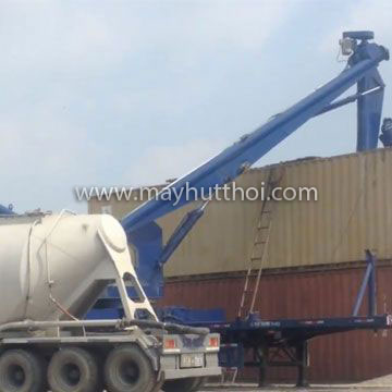 Ship Unloader for Fly ash